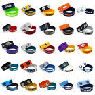 NFL Football Silicone Rubber Wrist Band Two Bracelets Choose Your Team $6.95 USD on eBay