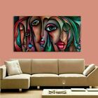 Hand Painted Oil Painting People Sex Girl Big Eyes Wall Art Handmade Pop Art