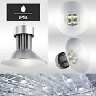 Powerful White LED High Bay Light Commercial Factory Warehouse Industrial Lamp
