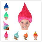 Colorful Troll Costume Hair Cosplay Wigs Elf Pixie Wigs Cartoon Festival Party image