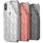 For Iphone X 10 | Ringke [air Prism] 3d Diamond Pattern Stylish Tpu Cover Case