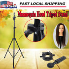 1/2/4 Pcs Mannequin Head Tripod Hairdressing Training Head Holder Hair Wig Stand