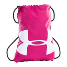 Under Armour Ozsee Drawstring Sackpack Backpack, Hot Pink, 1240539 NEW