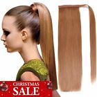 """18""""20""""Straight Wrap Around Ponytail Extension for Woman 100% Real Human Hair"""
