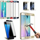 Real Tempered Glass Screen Protector For Samsung Galaxy S7 Edge S6 S8 Edge Plus