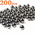200pcs 6 8 10 mm Slingshot Ammo Ball Catapult Hunting Fishing Shooting Balls
