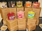 AVON 3-WICK CANDLE  11 OZ CANDLE (CHOOSE)