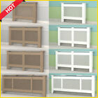 White Painted/Natural UnPainted Radiator Cover Cabinet Shelf MDF Wood Large New