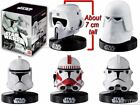 1/6 Star Wars Mini Helmet Replica Bandai Series 2 Shock Scout Snow Clone Trooper $29.99 AUD