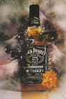 A4 SIZE JACK DANIELS TENNESSEE WHISKEY - PUB BAR MAN CAVE METAL PLAQUE SIGN B363