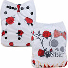 Baby Shower Reusable Cloth Diaper Waterproof Microfiber Insert Washable Nappies
