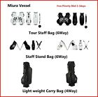 Miura Golf Limited Bag Tour or Stand Bag Collaboration with Vessel Golf 2019