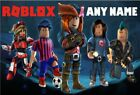 PERSONALISED ROBLOX JIGSAW PUZZLE A4 + Box
