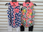 Girls Pogo Club 2pc Floral Overlay  Leggings Sets Size 5/6 - 14/16