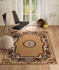 NEW (CHTU#25) BEIGE ORIENTAL, AREA RUG - APRX SIZES: 2X3, 2X7, 4X5, 5X7 & 8X11