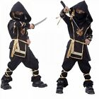 Ninja Costume Christmas Halloween Fighter Reaper House Party Decor For Kids