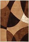 NEW (#23) MODERN ABSTRACT BEIGE RUG APPROX SIZES: 2'X3' 2'X7' 4'X5' 5'X7' 8'X11'