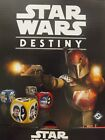 Star Wars Destiny Empire at War. Legendary and Rare Cards and Die. Brand New