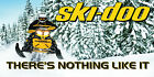 Ski Doo Banner Mancave Garage Vinyl Snowmobile Racing