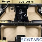 Scotabc All Weather Car Mats for Ford, Floor Liners(No Rubber) Heavy Duty Carpet