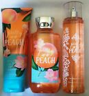 Bath & Body Works  Pretty as a Peach  Shower Gel, Lotion and Mist!