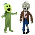 For PLANTS VS ZOMBIES Halloween Cosplay Zombie Costume Adult Child Party Hot