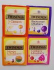 TWININGS TEABAGS X 10 FRUIT SELECTION*INDIVIDUALLY WRAPPED* TEABAGS