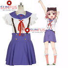 School-Live! Gakkō Gurashi! Yuki Takeya Uniform Dress cosplay costume anime