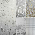 Multi-Type Waterproof Frosted Privacy Bedroom Bathroom Window Glass Film Sticker