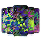 HEAD CASE DESIGNS NEON PATTERNS SOFT GEL CASE FOR APPLE iPHONE PHONES