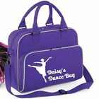 PERSONALISED DANCE BAGS SCHOOL LUNCH GYM GIRLS KIDS UNISEX WOMENS OUTDOOR NEW