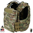 TMC CAC Plate Carrier Tactical Vest Body Armor CAGE ARMOR Heavy Duty Airsoft Chest Rigs & Tactical Vests - 177891