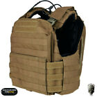 TMC Tactical Vest CAC Plate Carrier Body Armor CAGE ARMOR Heavy Duty Airsoft Chest Rigs & Tactical Vests - 177891