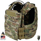 TMC Tactical Vest CAC Plate Carrier Body Armor CAGE ARMOR Heavy Duty Airsoft