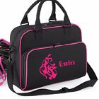 PERSONALISED BALLET BAGS SCHOOL LUNCH GYM GIRLS KIDS SHOES WOMAN OUTDOOR NEW