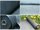 1m wide GREY Weed control fabric ground cover membrane landscape mulch