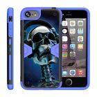 For Apple iPhone 8 Plus Case (5.5*) Holster Clip Stand Rugged Armor Blue Cover