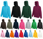 Fruit of the Loom Classics Hooded Sweat Herren Sweatjacke Kapuzenjacke 2er Pack