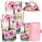 Painting Flip PU Leather Wallet Case Cover For Samsung Galaxy A3/A5/J3/J7 (2017)