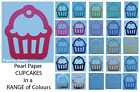 CUPCAKE Embellishments - Paper Punches MULTI LISTING! 30 Pieces