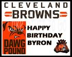 NFL Cleveland Browns Football  Edible image Cake topper on eBay