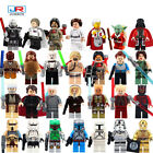 Star Wars Lego Minifigures R2D2, Shore Trooper, Han Solo, Death Trooper, Obi-Won $2.0 USD
