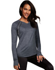 2 Maidenform Women's Baselayer Active V-Neck Tops MFBLAV