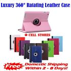360 Rotating Leather Case Cover Stand iPad 2 3 4 Mini 1 2 3 4 Air 1 2 Pro 2018