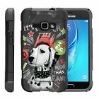 For Samsung Galaxy J Series Phone Case Slim Dual Layer Hybrid Kickstand Animal