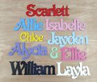 Personalised Names / Wooden Name Plaques / Bedroom Door Sign Letters #007 Victor