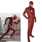 Xcoser 2017 New The Flash 4 Costume Cosplay PU Suit Halloween Costume for Men