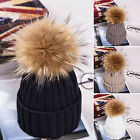 Kids Child Baby Boy Girl Pom Hat Winter Warm Crochet Knit Bobble Beanie Cap Xmas