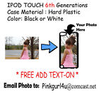Customized Photo Picture Phone Case Cover For iPod Touch 6th Generation