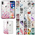 For Apple iPhone X / XS 5.8 inch Slim TPU Clear Silicone Gel Skin Case Cover